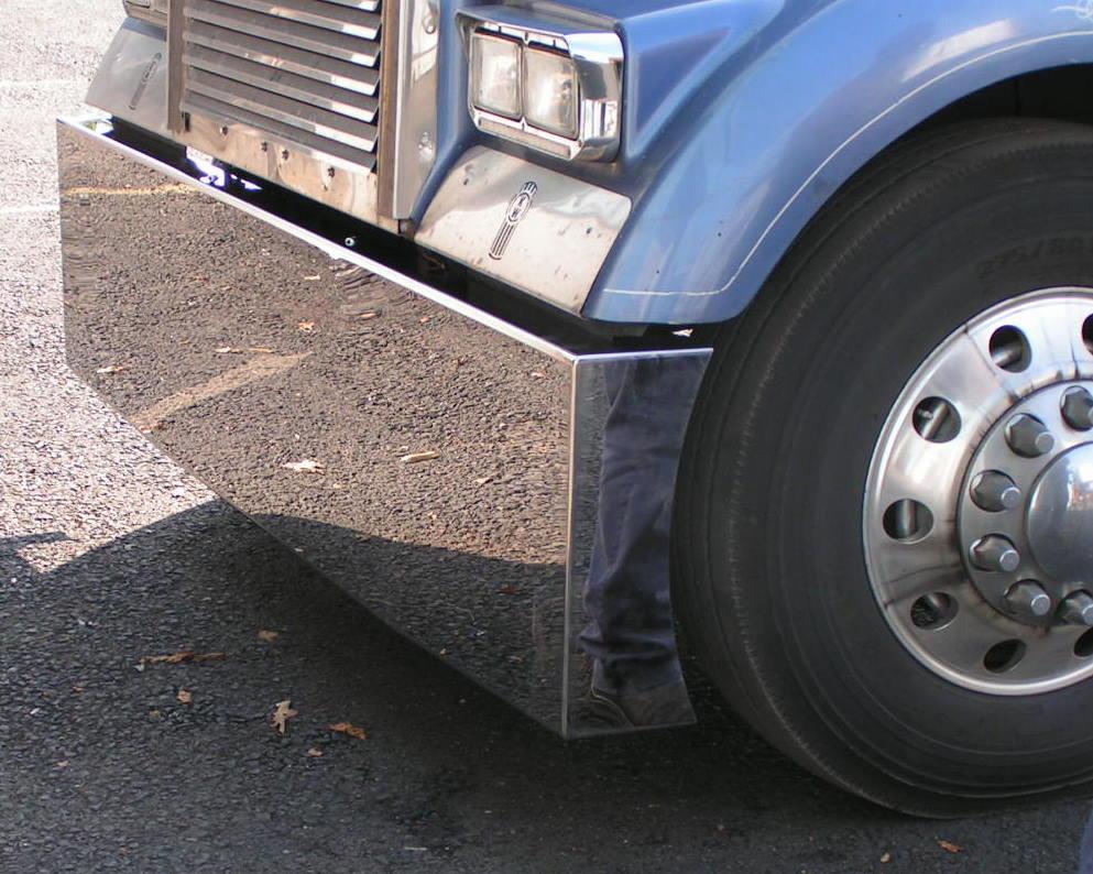Chrome Truck Bumper >> Custom Truck Bumpers